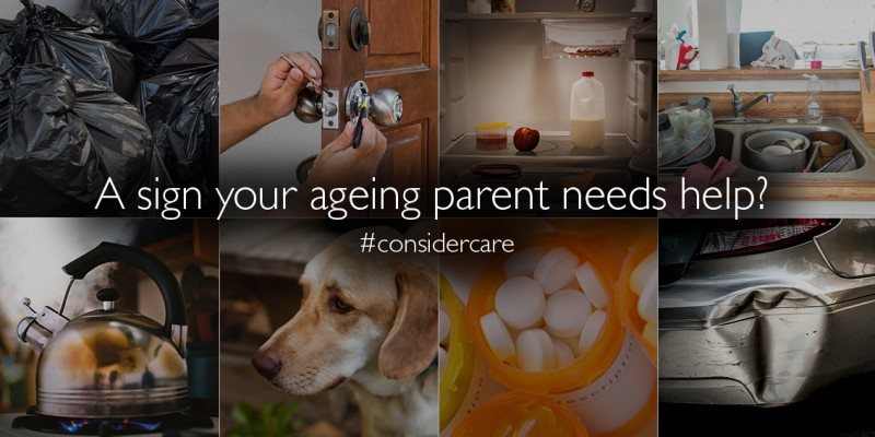 Signs your ageing parent needs home care services