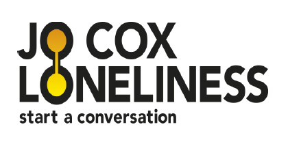 Jo Cox Loneliness 'start a conversation' logo