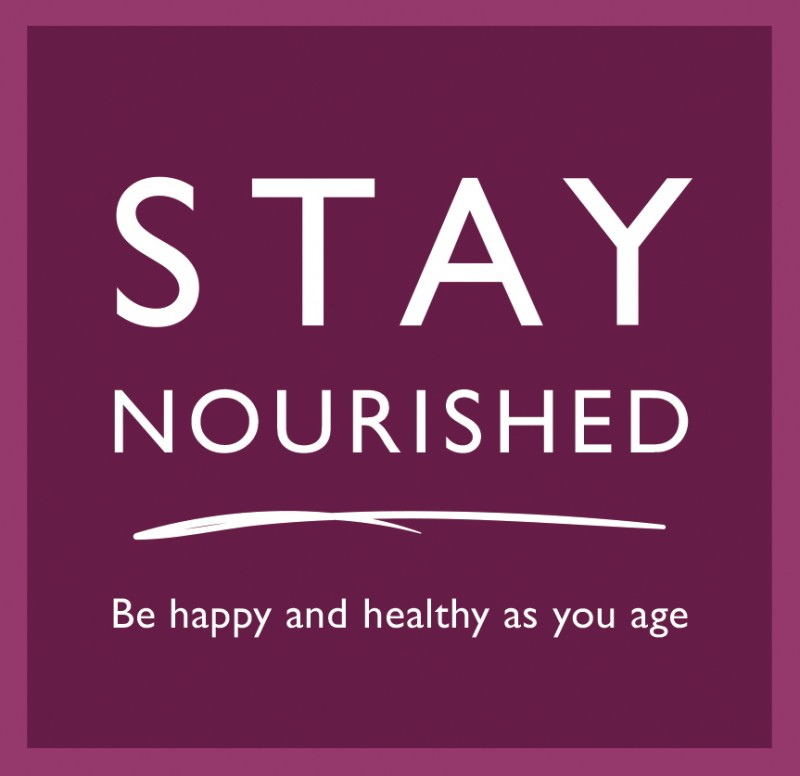 Home Instead Senior Care 'Stay Nourished campaign logo